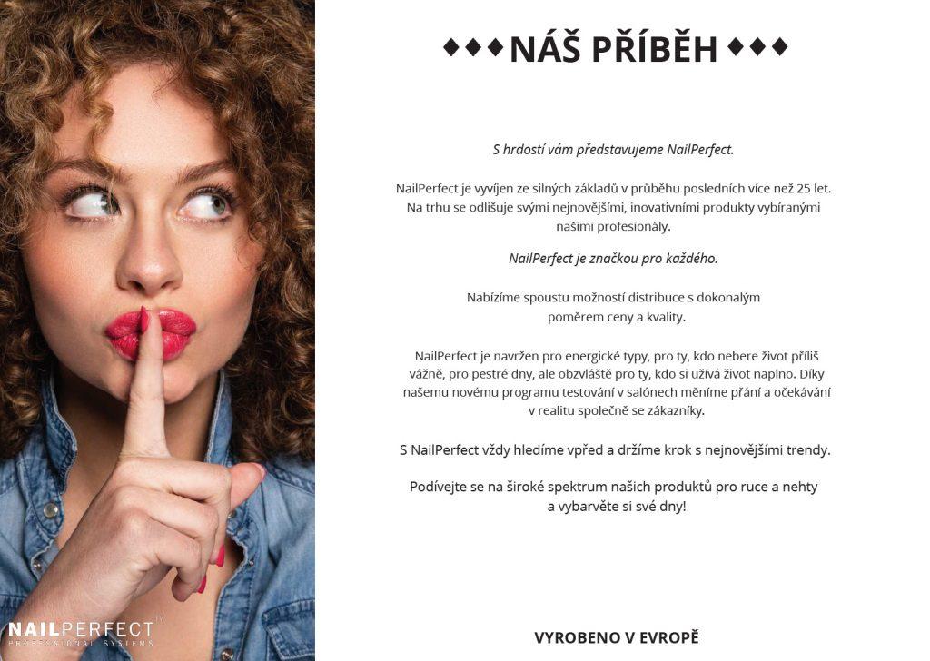 NailPerfect.cz – ukázka z produktového katalogu